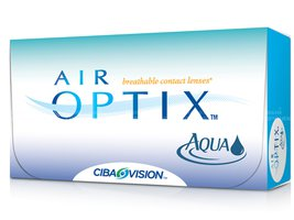 Линзы Air Optix Aqua