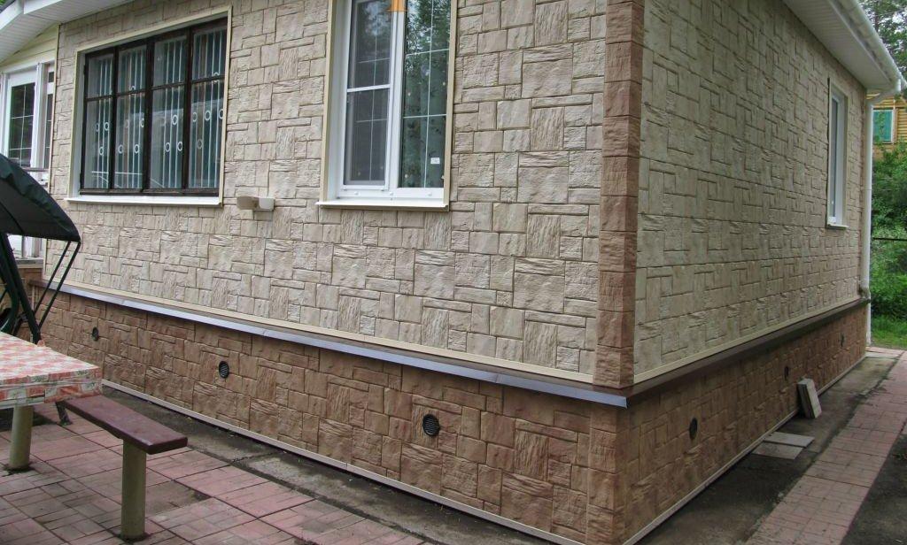 Стеновые панели для наружной отделки дома.
