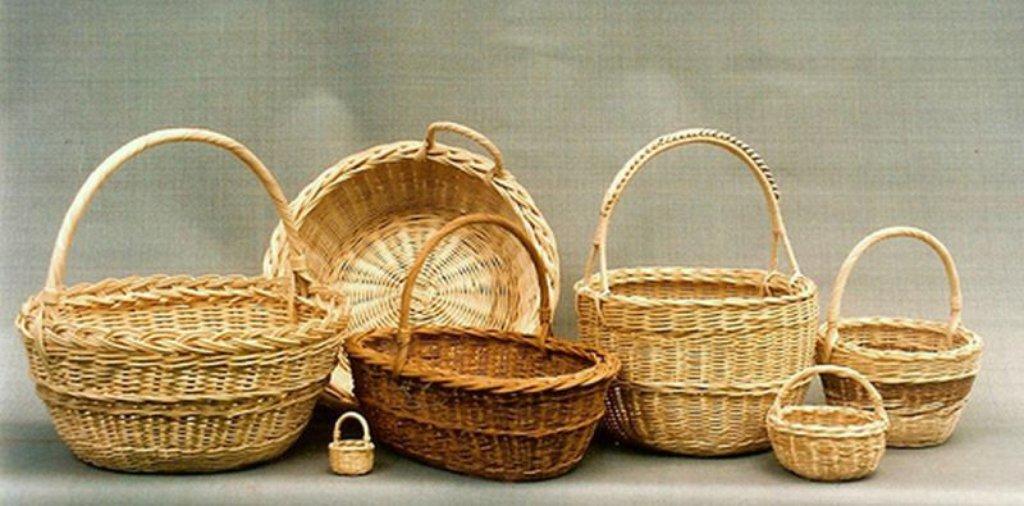 Плетение из лозы и камыша