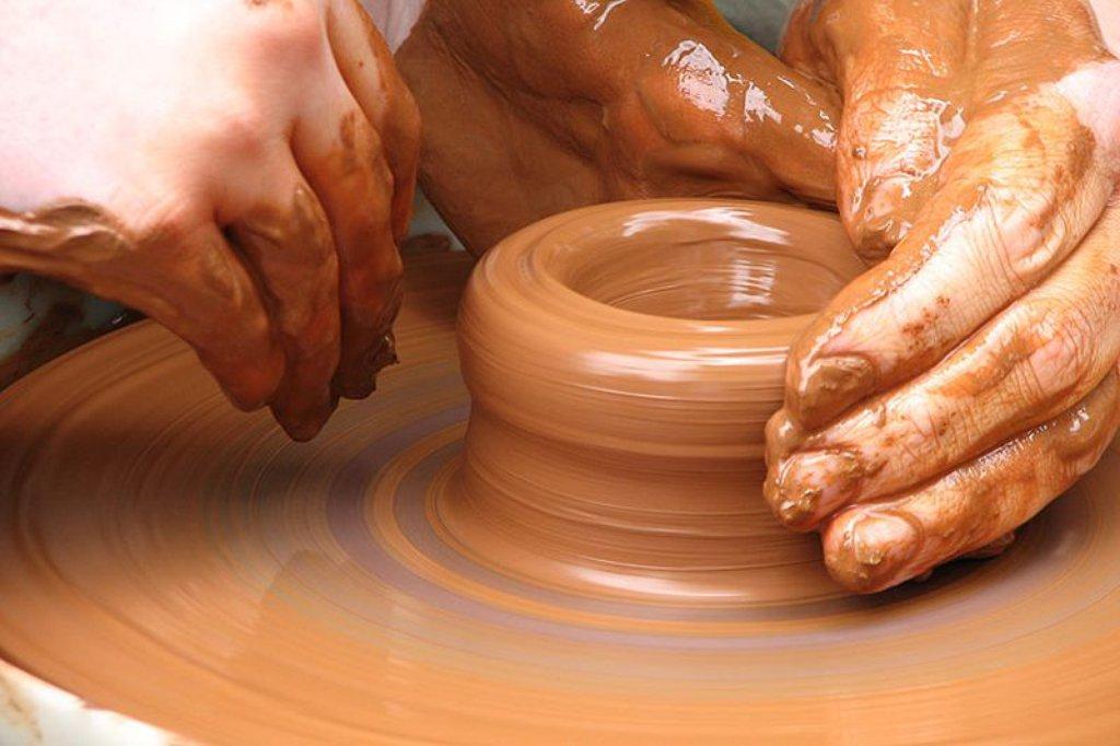 Как сделать своими руками гончарный круг