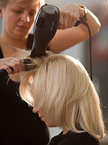 Укладка феном коротких волос обучающее видео