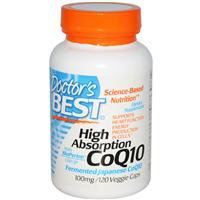 Коэнзим High Absorption CoQ10, 60 капсул