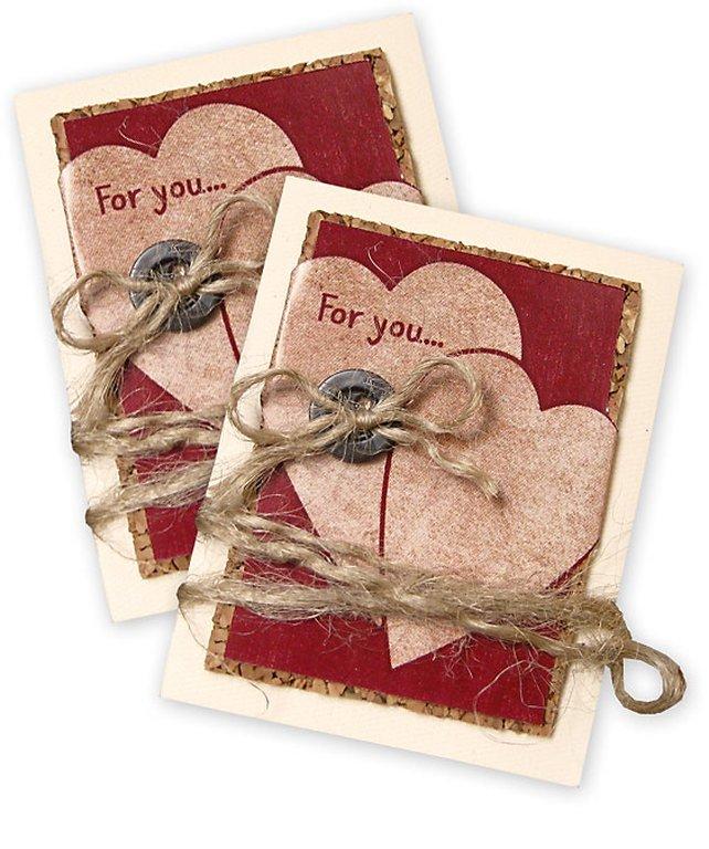 Мини-открытка к подарку