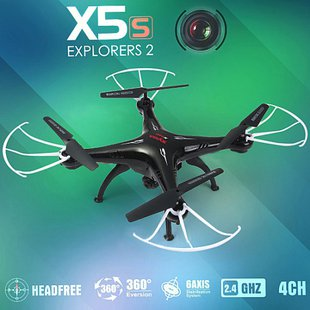 КВАДРОКОПТЕР SYMA X5SC С ВИДЕОКАМЕРОЙ, HEADLESS, 2.4GHZ
