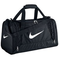 Nike Small Black Brasilia 6 Duffel Gym Sports Holdall Training Bag 44 L