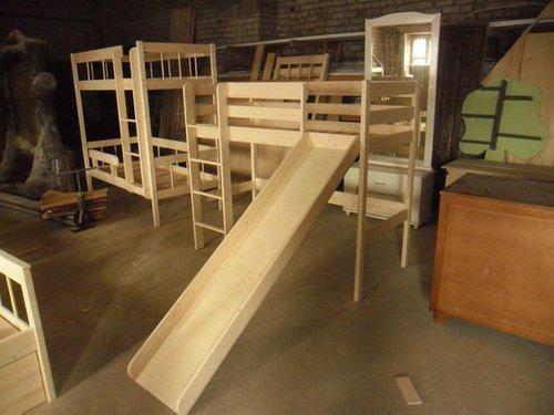 Кровать большая чердак
