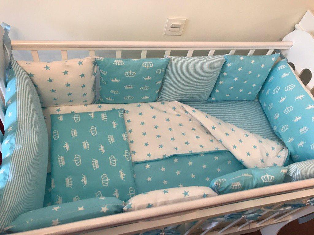 Сшить самой бортики для кроватки 45